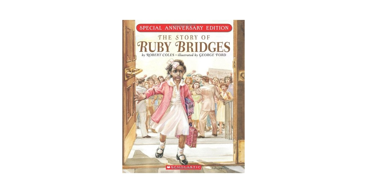 Ruby bridges booke colouring pages page 2