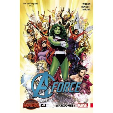 A-Force Volume 0: Warzones