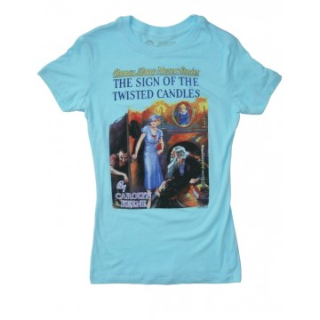 """Nancy Drew """"Twisted Candles"""" T-Shirt"""