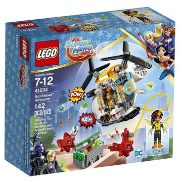 LEGO DC Super Hero Girls Bumblebee Helicopter