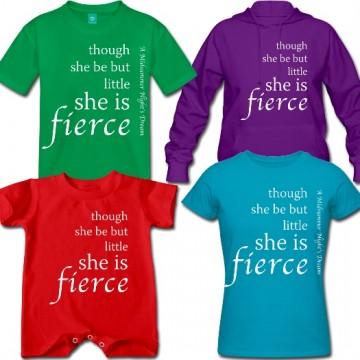 """""""She is Fierce"""" T-Shirt"""