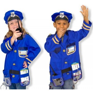 Melissa and Doug Police Officer Costume Set