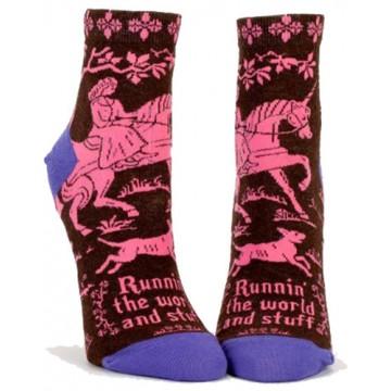 Runnin' the World Socks