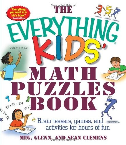Maths puzzle books for adults
