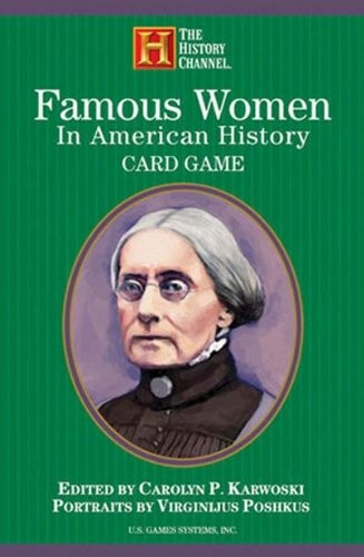 Famous Women in American History Card Game   A Mighty Girl