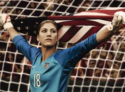Hope Solo native american