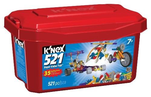 K Nex 521 Piece Value Tub A Mighty Girl