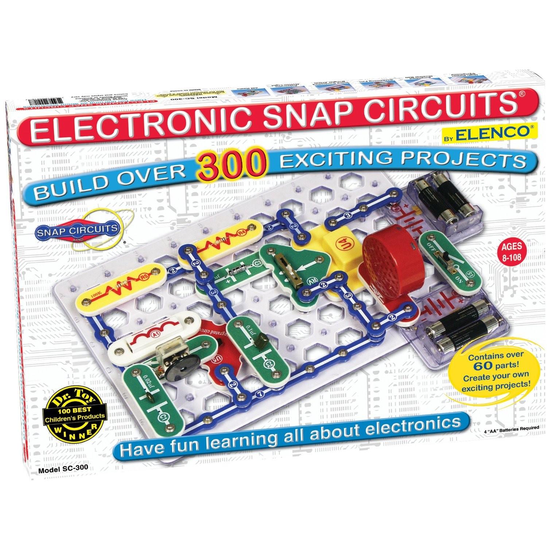 Toys For Boys Electronics Snap Circuits Sc 300 : Snap circuits sc a mighty girl