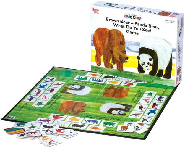 Eric Carle's Brown Bear Animal Parade - Brown Bear Brown ...