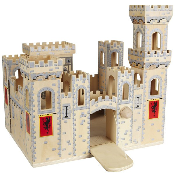 Folding Medieval Castle | A Mighty Girl