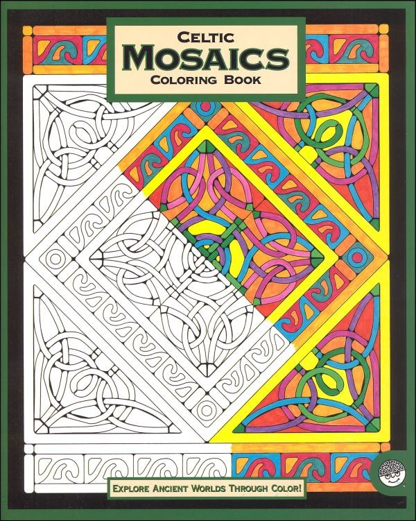 Celtic Mosaic Coloring Book | A Mighty Girl