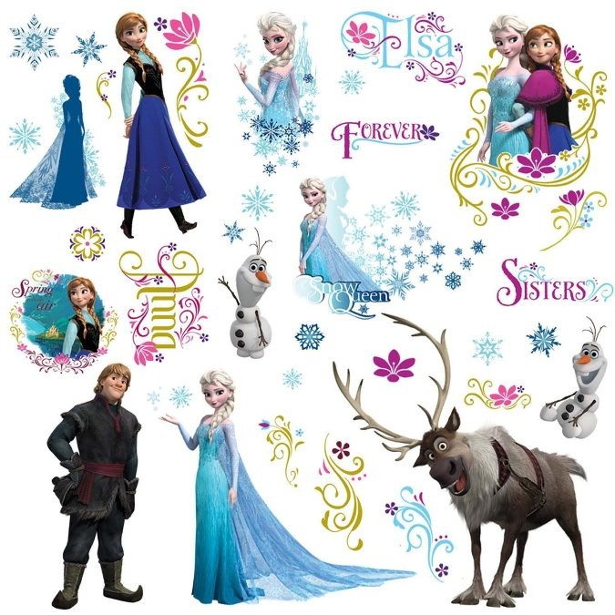 pics photos frozen wall decals wall stickers