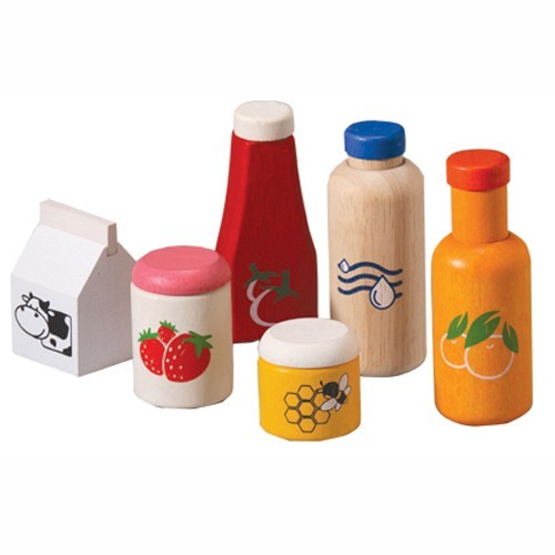 Toy Food Sets : Plan toy food and beverage set a mighty girl