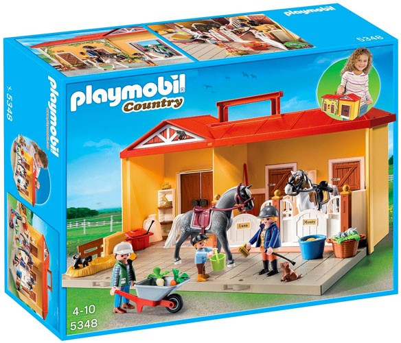 Playmobil Take Along Christmas House Playmobil Take Along Horse