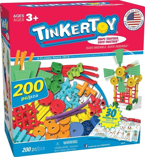 Toy Building Sets For 12 Year Olds : Tinkertoy super building set a mighty girl