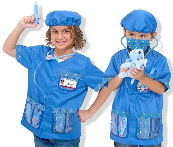 Melissa and Doug Children's Veterinarian Costume Set | A ...