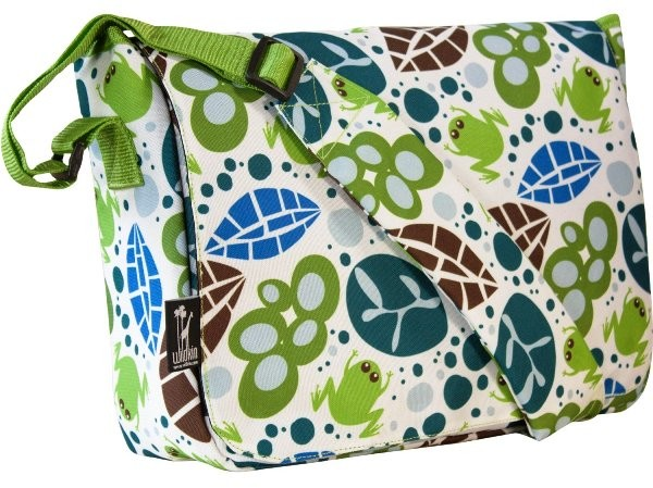 Wildkin Retro Kickstart Messenger Bag