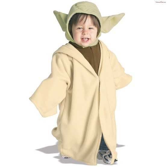 star wars infant toddler yoda costume a mighty girl. Black Bedroom Furniture Sets. Home Design Ideas