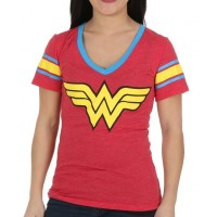 Wonder Woman Logo Juniors Shirt