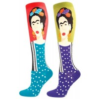 Frida Kahlo Knee Socks