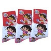 Dora the Explorer Socks 3-Pack