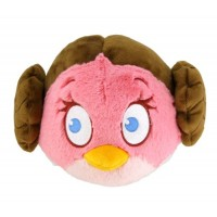 "Angry Birds Star Wars Leia 5"" Plush"
