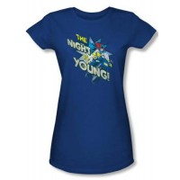 Batgirl The Night Is Young T-Shirt
