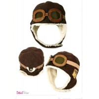 Wool Aviator Hat