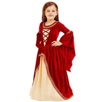 Red Renaissance Dress Costume