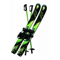 Beginner Snow Skis and Poles