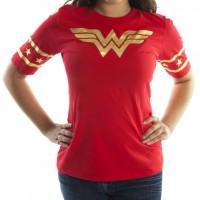 Wonder Woman Red & Gold T-Shirt