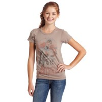 Faded Vintage Batgirl T-Shirt