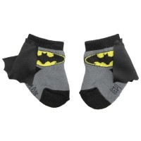 Batgirl Caped Infant Socks
