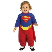 Supergirl Costume Romper