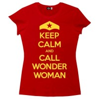 Keep Calm and Call Wonder Woman T-Shirt