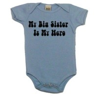 My Big Sister is My Hero Onesie
