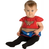 Wonder Woman Infant Bib Costume