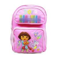 Dora the Explorer Crayon Backpack