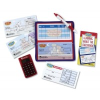 Pretend and Play Checkbook with Calculator