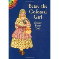 Betsy the Colonial Girl Sticker Doll