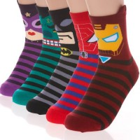 Superhero Socks 5-Pack