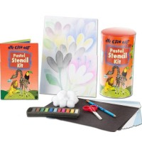 Pastel Stencil Kit