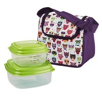 Owl Lunch Bag With Containers