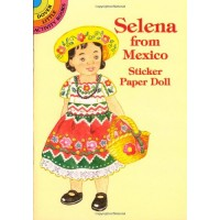 Selena from Mexico Sticker Doll