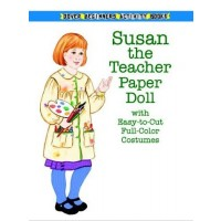 Susan the Teacher Paper Doll