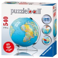 The Earth: Globe 3D Puzzle