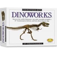 Dinoworks: T-Rex Skeleton Casting Kit