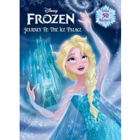 Frozen Journey to the Ice Palace Coloring Book