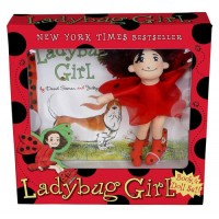 Ladybug Girl Doll and Book Set