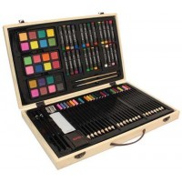 82-Piece Deluxe Art Creativity Set